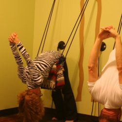 Yoga Rope Wall Lesson for TWO