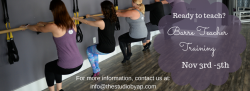 Barre Teacher Training