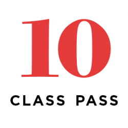 Virtual/Live Streaming 10 Class Pass