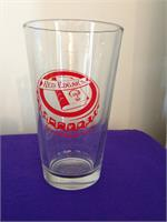Red Edgar Book and Beer Club Pint Glasses