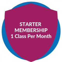 Starter Membership: 1 Class Per Month