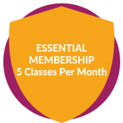 Essential Membership: 5 Classes Per Month
