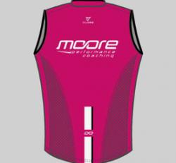 Moore Performance Wind Vest - unisex