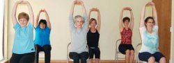 HEY Chair Yoga, Tuesdays, Oct 31 to Nov 28, 2017 with Donna, Ahwatukee Studio