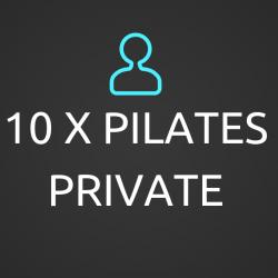 10 x Pilates Private