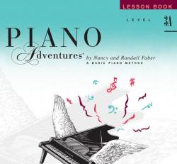 Level 3A Lesson Book - Piano Adventures
