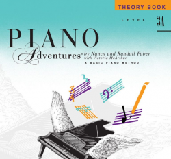 Level 3A Theory Book - Piano Adventures