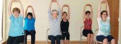 HEY Chair Yoga, Tuesdays, Dec 5 to Jan 2, 2018 with Donna, Ahwatukee Studio