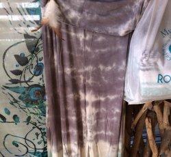 Chatoyant pants- tie dye grey and mint