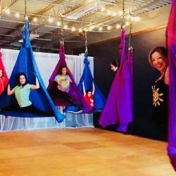 Aerial Silks Party!