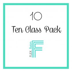 10 Class Pack- exp 6 month