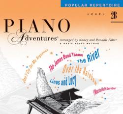 Level 2B Popular Repertoire Book - Piano Adventures