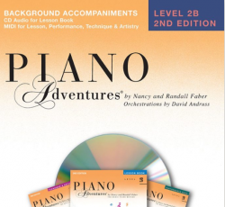 Level 2B Background Accompaniment CD - Piano Adventures