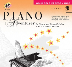 Level 2B Gold Star Performance Book - Piano Adventures