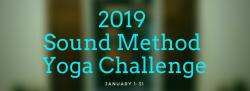2019 Sound Method Yoga Challenge