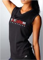TShirt Sans Manches Femme (Black)