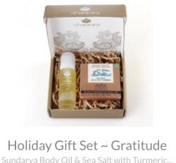 Holiday Gift Set ~ Gratitude