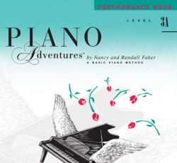Level 3A Performance Book - Piano Adventures