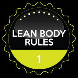 Lean Body Rules Membership