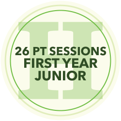 24 Personal Training Sessions (First Year Junior)