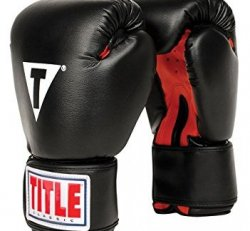 12-14 oz Title Upgraded Classic Boxing Gloves