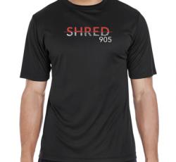 SHRED905 MEN'S T-SHIRT - Black