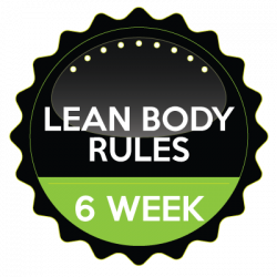 Lean Body Rules 6 Week Nutrition Program