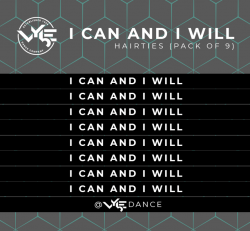 """""""I Can, I Will"""" Hair Ties"""