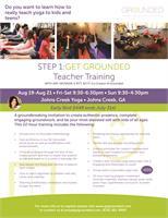 Get Grounded: Level I Teacher Training