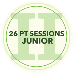 24 Personal Training Sessions (Junior)
