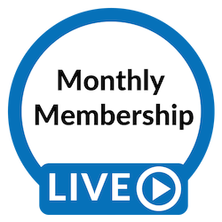 Blue Studios LIVE: Monthly Membership