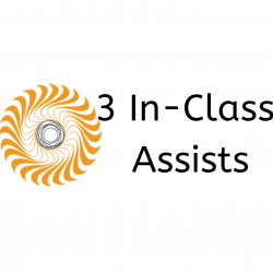 3 In Class Assists