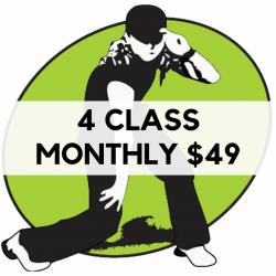4 Class Monthly Membership