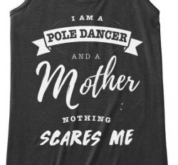 Pole Dancing mother