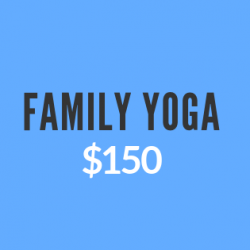 Family Yoga (up to 4 members)