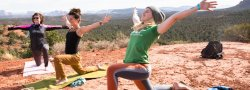 *Rise & Shine Yoga on the Vortex*