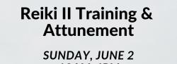 Reiki II Training & Attunement