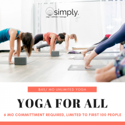 Monthly Unlimited Yoga