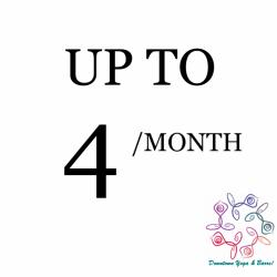 UP to 4 classes/month *autorenews*