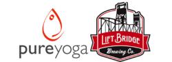 Pure Yoga + Lift Bridge Brewing Company