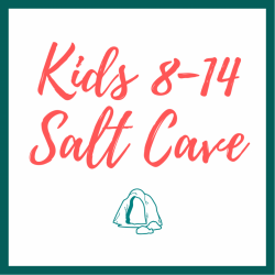 Kids ages 8-14 Salt Cave - Single Session