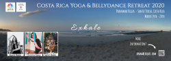 Apana Retreats presents Costa Rica Yoga & Bellydance Retreat 2020