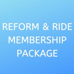 Reform & Ride Membership Package