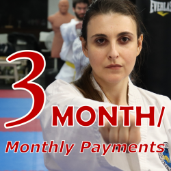 TKD Adults - 3 Month Payment Terms