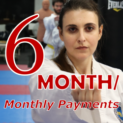 TKD Adults - 6 Month Payment Terms