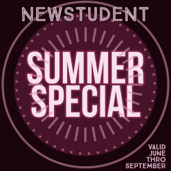 New Student Summer Special