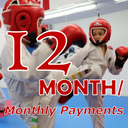 TKD Kids - 12 Month Payment Terms