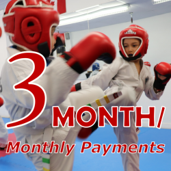 TKD Kids - 3 Month Payment Terms