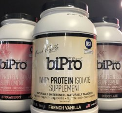 BiPro Whey Protein 2Lb Container
