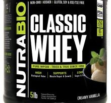 Classic Whey Protein - 5lbs